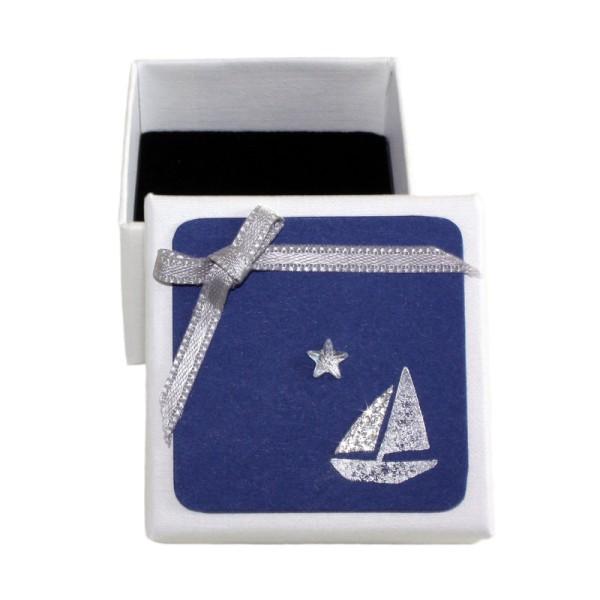 Geschenkschachtel Segelboot
